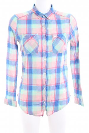 Hollister Crash Blouse allover print business style