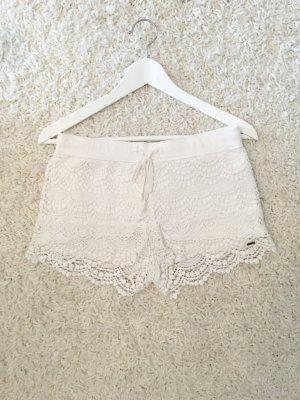 Hollister Crochet Shorts Blogger Häkelshorts Hot Pants Gr.XS/S