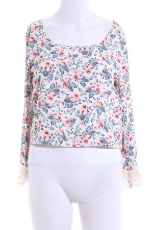 Hollister Camicia cropped motivo floreale stile casual