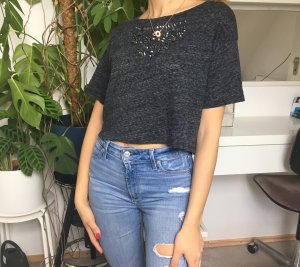 Hollister Cropped Shirt multicolored