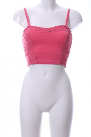 Hollister Cropped top roze casual uitstraling