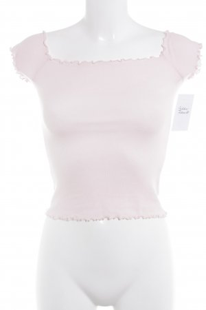 Hollister Cropped Top rosé Casual-Look