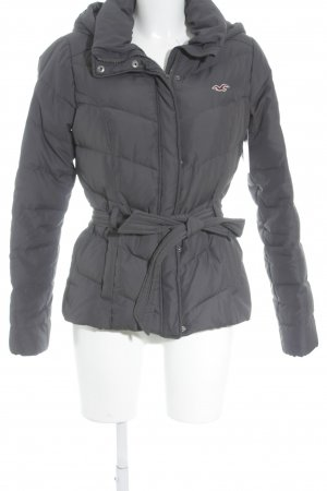 Hollister Down Jacket anthracite casual look
