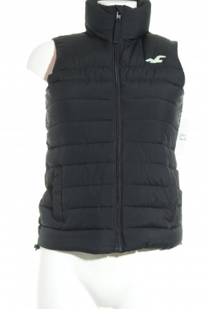 Hollister Donsvest donkerblauw casual uitstraling