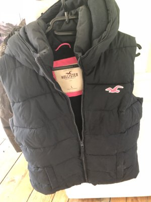 Hollister Hooded Vest black