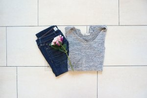 Hollister Feinstrick Pullover Oversized Cropped