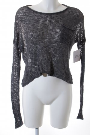 Hollister Fine Knitted Cardigan grey casual look