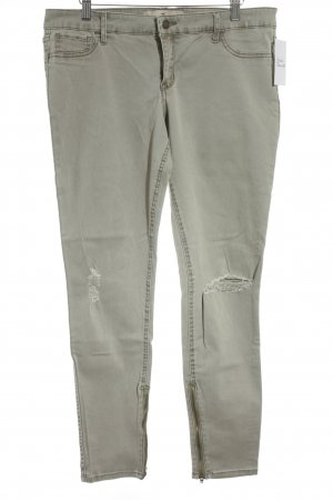 Hollister Five-Pocket-Hose sandbraun Used-Optik