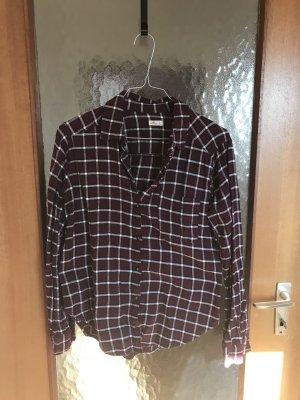 Hollister Flanelhemd Hemd Bluse mit Tasche