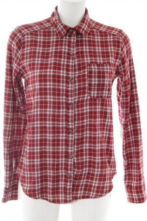 Hollister Flannel Shirt red-white check pattern casual look