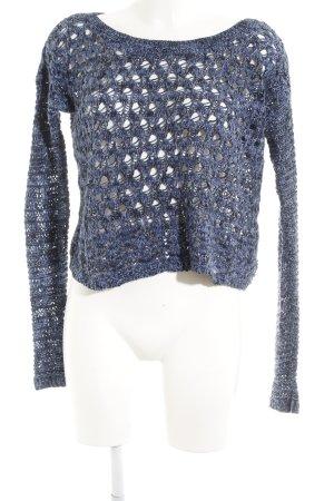 Hollister Gehaakte trui gestippeld casual uitstraling