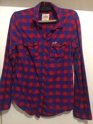 Hollister Hemd - blau|rot