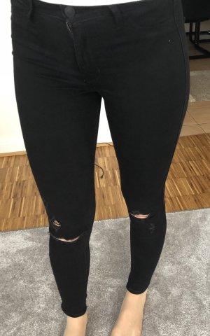 Hollister High Rise Jeans, schwarz, Gr. XS, NEU