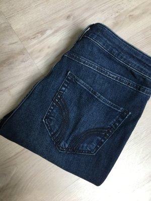 Hollister Jeans a vita alta blu scuro