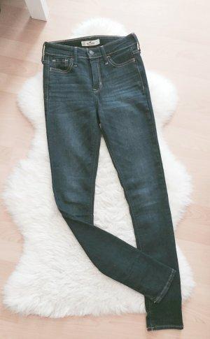 Hollister High Waist Blogger Super Skinny Jeans W24 L31