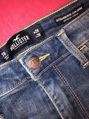 Hollister High Waist Jeans blue