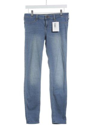 Hollister High Waist Jeans blau schlichter Stil