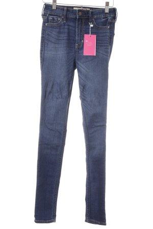 Hollister High Waist Jeans dunkelblau Casual-Look
