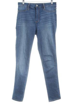 Hollister High Waist Jeans stahlblau Casual-Look