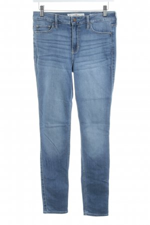 Hollister Hoge taille jeans staalblauw casual uitstraling