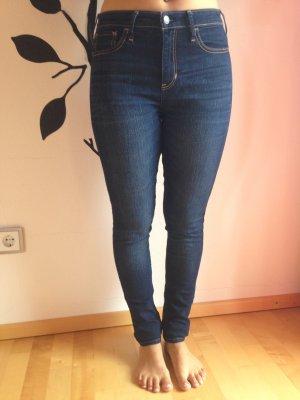 HOLLISTER High Waist Jeans - W 28 L 31 - wie neu