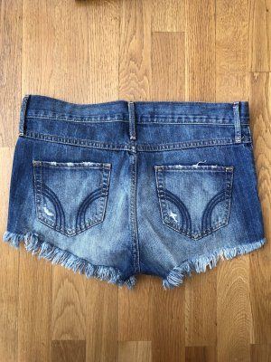 Hollister high-waist Shorts mit Fransen Details