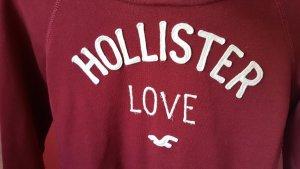 Hollister Hoddie S bordeauxrot