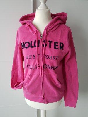 HOLLISTER Hoddie / Sweat-Jacke, pink, Gr.S