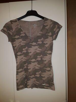 Hollister / Hollister & Co. / Tshirt Top Shirt Camouflage - Gr. XS