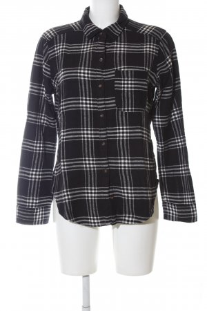 Hollister Lumberjack Shirt black-white check pattern casual look