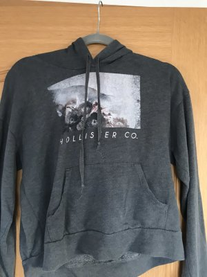 Hollister Jersey con capucha gris-gris oscuro