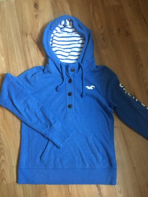 Hollister Hooded Sweater cornflower blue