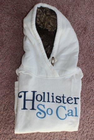 Hollister Hoodie mit Kunstfellkapuze