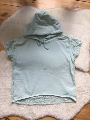 Hollister Hooded Sweater turquoise