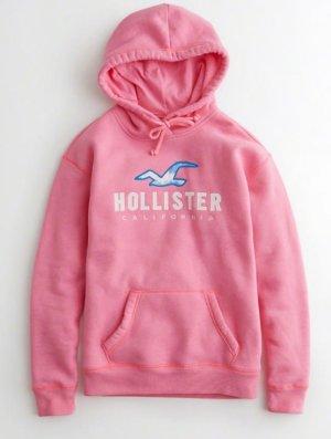 Hollister Hoodie mit Logografik und Batiklook Gr. M 38 ***NEU***