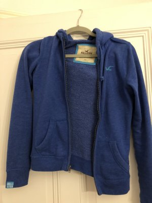 Hollister hoodie sweat jacke blau