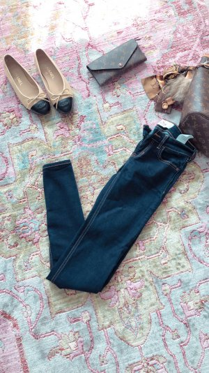 Hollister Pantalón de tubo azul