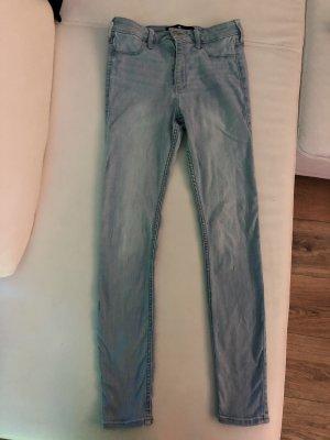 Hollister Drainpipe Trousers azure