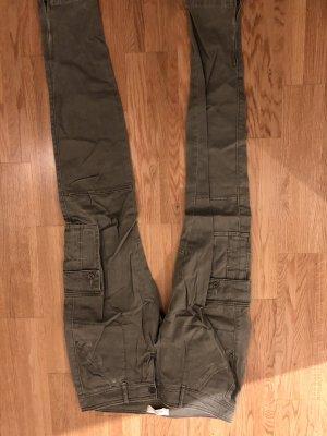 Hollister Drainpipe Trousers khaki