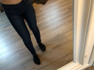 Hollister Stretch jeans donkerblauw