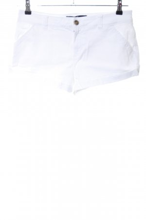 Hollister Hot pants bianco stile casual