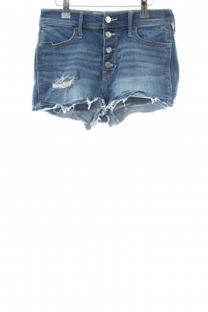 Hollister Hot Pants blue casual look