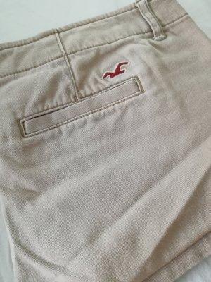 Hollister hot pants beige