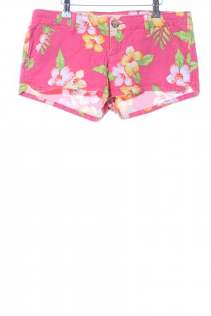 Hollister Hot Pants Allover-Druck Casual-Look