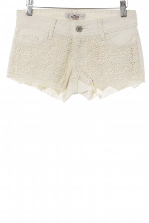 Hollister Hot pants beige chiaro stile casual