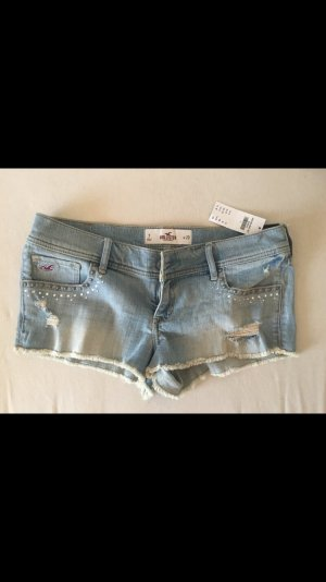 Hollister Hot Pants hellblau