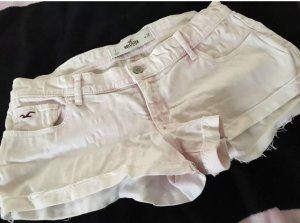 Hollister Hot Pants Jeans im Batik Look rosa