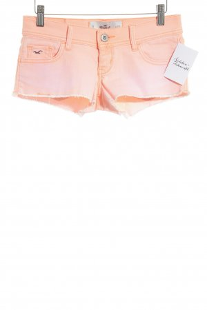 Hollister Hot Pants neonorange-rosa meliert Beach-Look