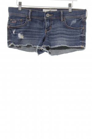 Hollister Hot Pants steel blue beach look