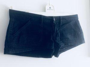 Hollister Hotpants Cotton dunkelblau 38